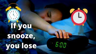 Snoozen verlaagt je productiviteit